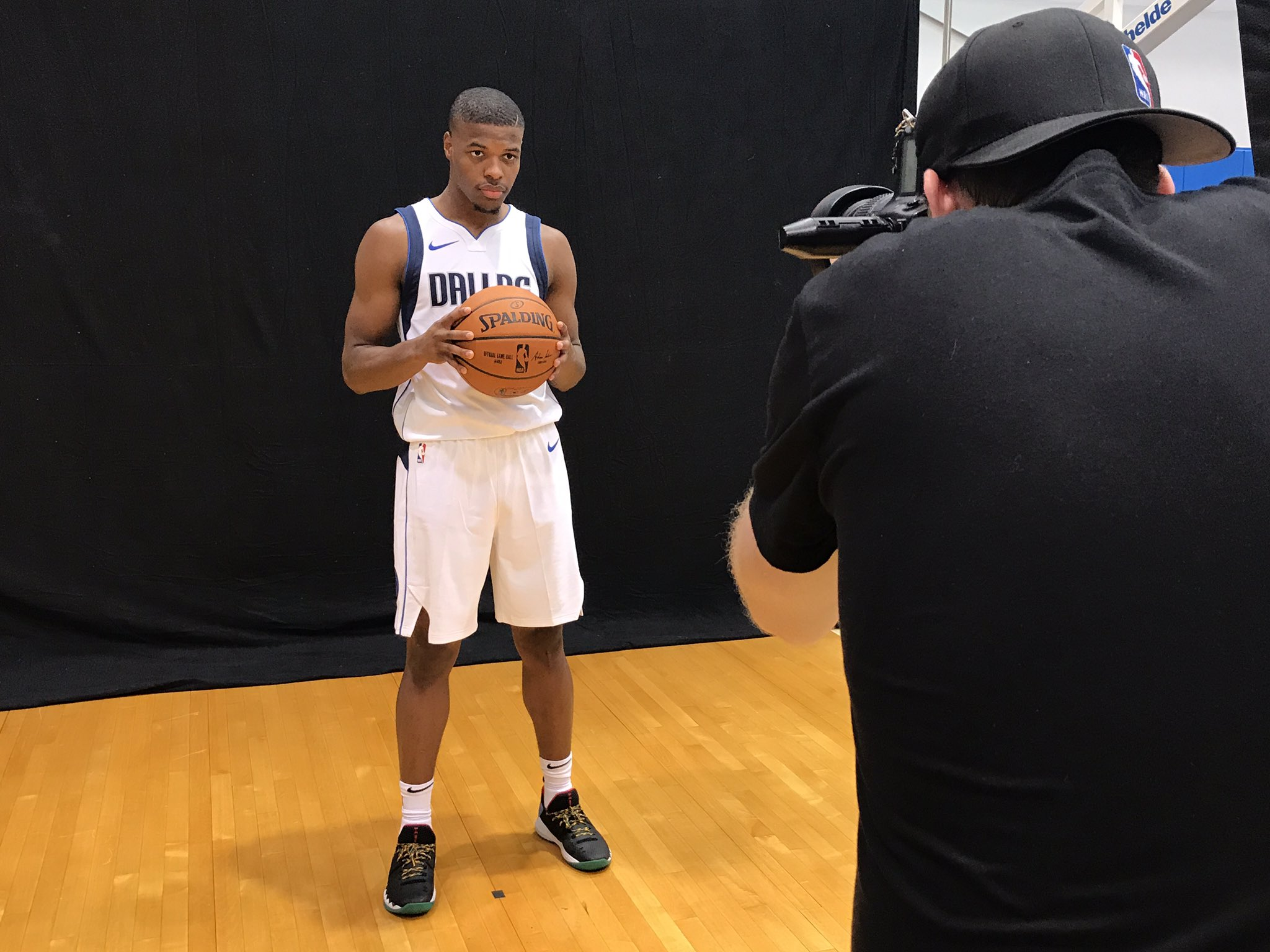 Ball is life... @Dennis1SmithJr of the @dallasmavs! #PaniniNBARookie https://t.co/6bOnQNro5k