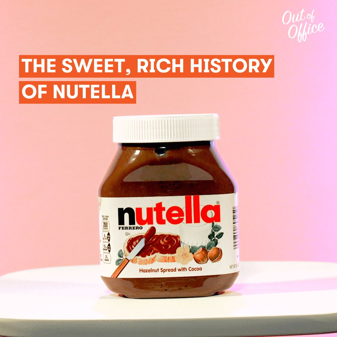 mic on twitter do you know the sweet rich history of nutella