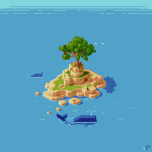 Had to get in on the iso fun @Pixel_Dailies #pixel_dailies #pixelart #isometric_island<br>http://pic.twitter.com/kVzRUfpckx