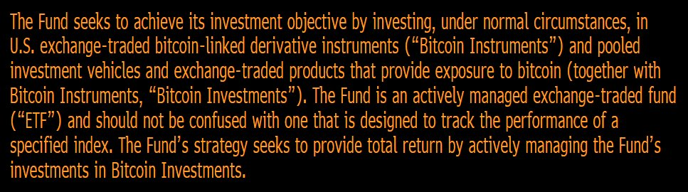 Just in: VanEck files for a bitcoin ETF. The VanEck Vectors Bitcoin Strategy ETF will be active (strategy below), no ticker or fee yet. $XBT https://t.co/RVdnKDdYh2