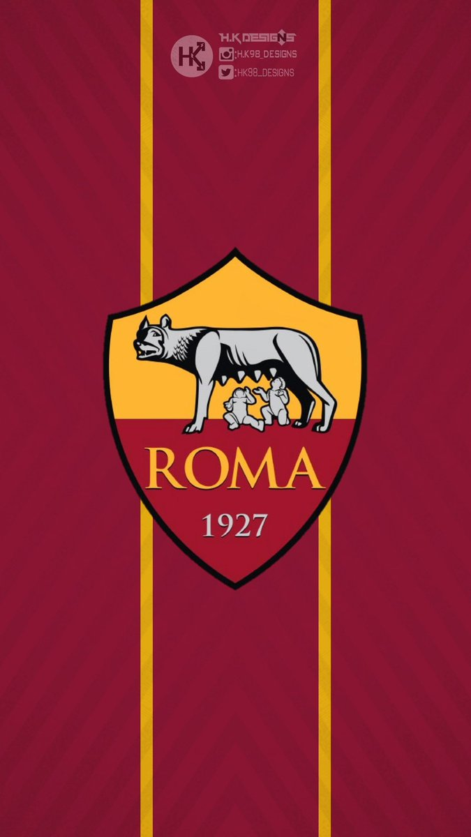 As Roma Designs On Twitter As Roma Wallpaper Logo