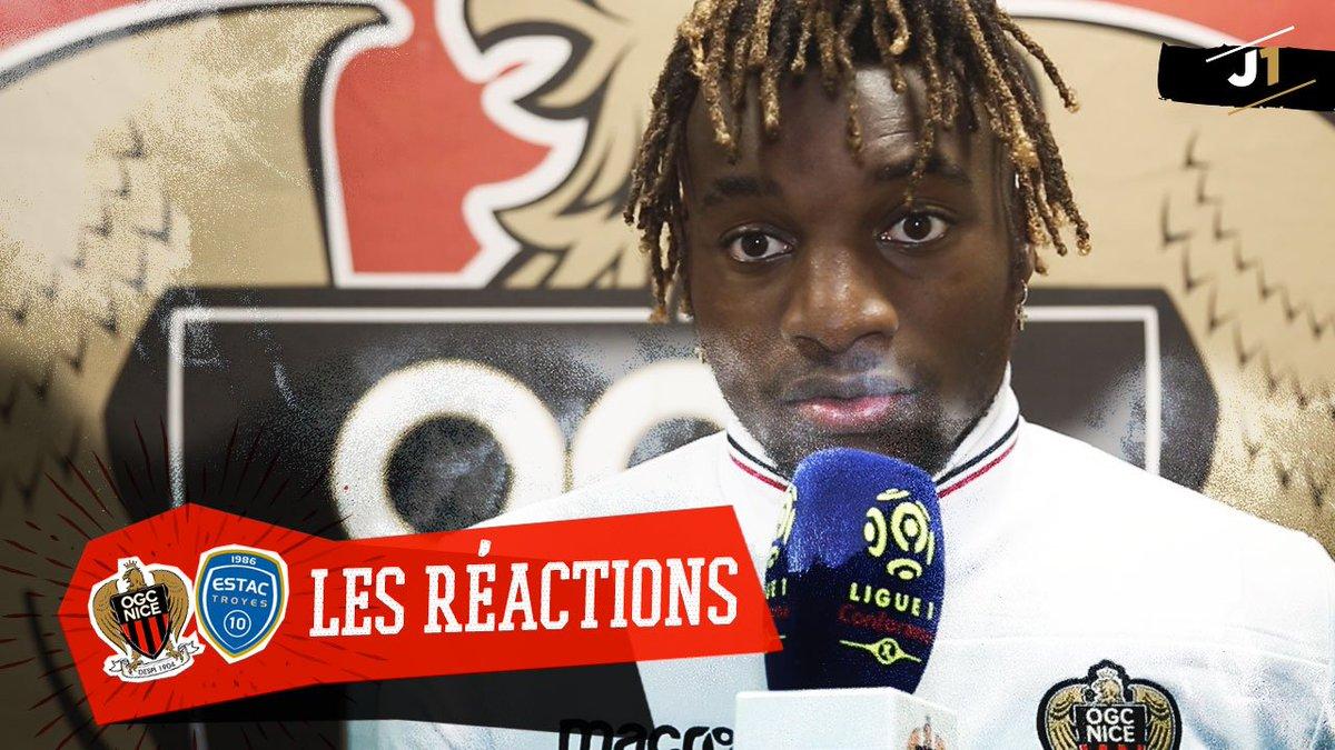 Les réactions #vidéo des Aiglons après #OGCNESTAC :   http:// ogcn.fr/Reac-OGCNESTAC    pic.twitter.com/xBHaBrWFmi