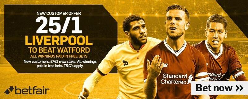 #PremierLeague #SuperBoost   25/1 #Liverpool to beat #Watford at Betfair! Risk-free!    http://www. betandskill.com/links/betting/ betfair-odds-8.html  …    #WATLIV LFC #YNWA #ARSLEIpic.twitter.com/Zk1w3rscMB