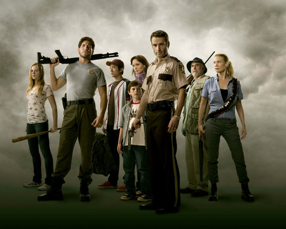 #FlashbackFriday to the old #WalkingDead wrecking crew<br>http://pic.twitter.com/vcM6TwCC1U