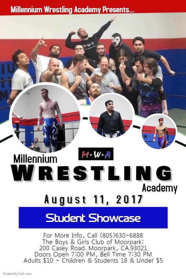 Tonight is our student showcase! Come support and see our students hard work! #friday #show #mpw #moorpark #simivalley #prowrestring #school<br>http://pic.twitter.com/XyngEzM6rH