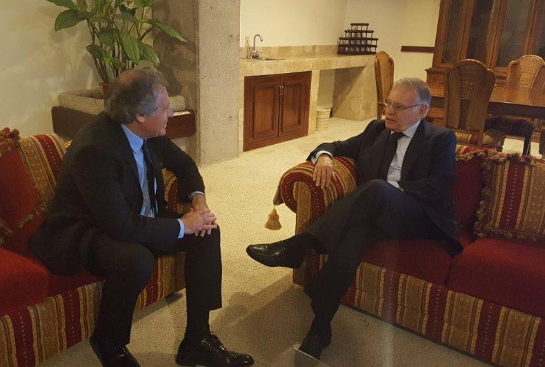 Fructífero diálogo en encuentro con ex Presidente Miguel Ángel Rodrígu...