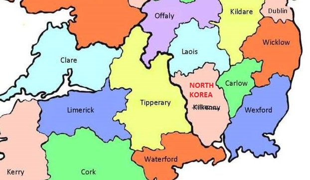 Apparently Trump has no idea where #NorthKorea even is. If he's going to nuke it, he can use this handy map as a guide.  #GAA