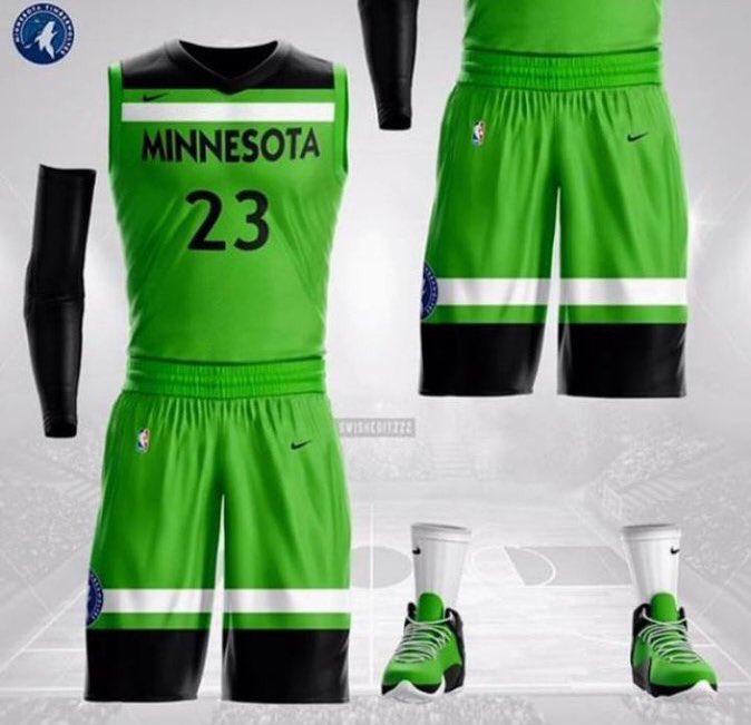 Minnesota Timberwolves Jersey 2018