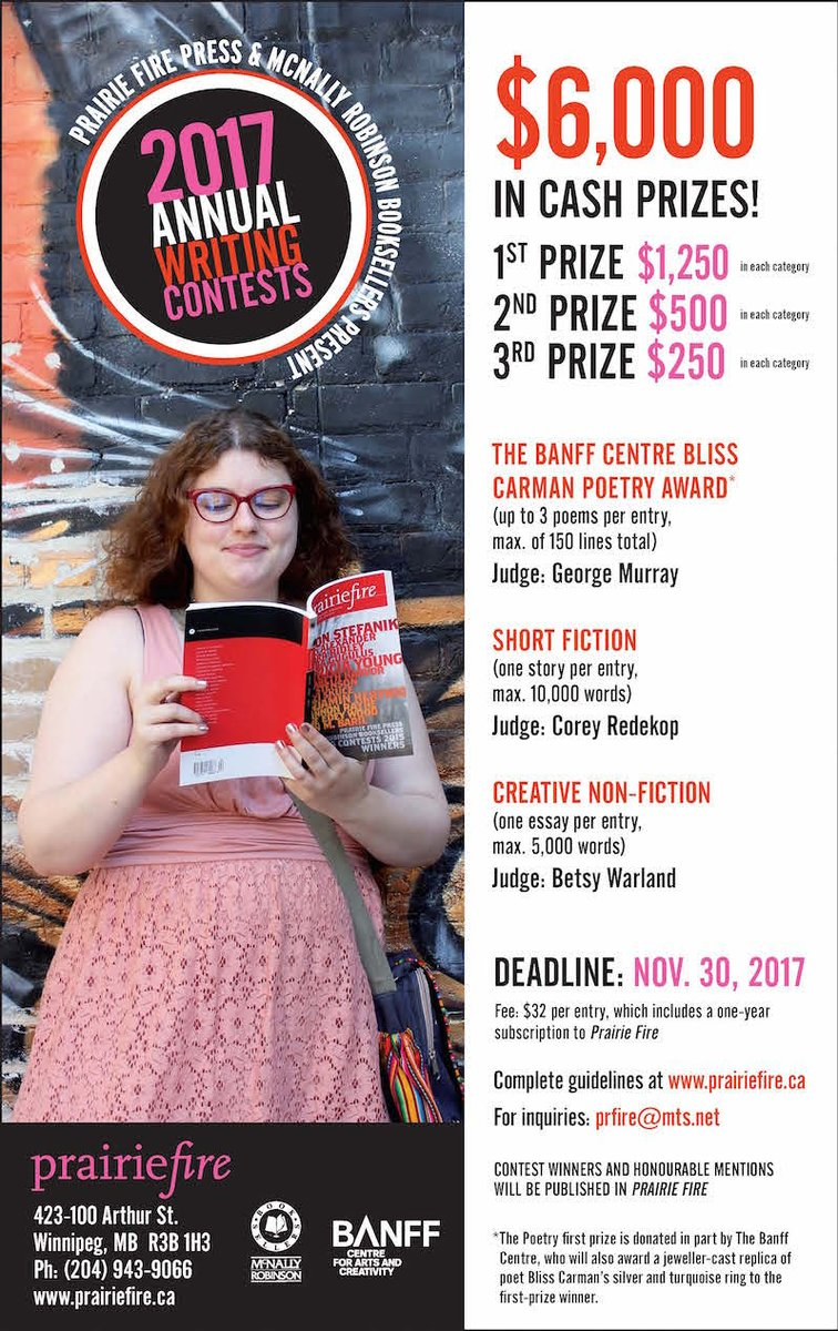 non-fiction essay contests Prism has a total of four recurring contests: our annual creative non-fiction competition, the pacific spirit poetry prize.