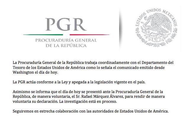 Rafael Márquez, se amparó y pide que descongelen sus cuentas
