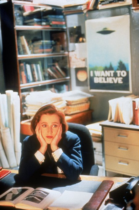 Believing can be tiring ...  HL wishes a VERY Happy Birthday to Gillian Anderson! (Martyn)