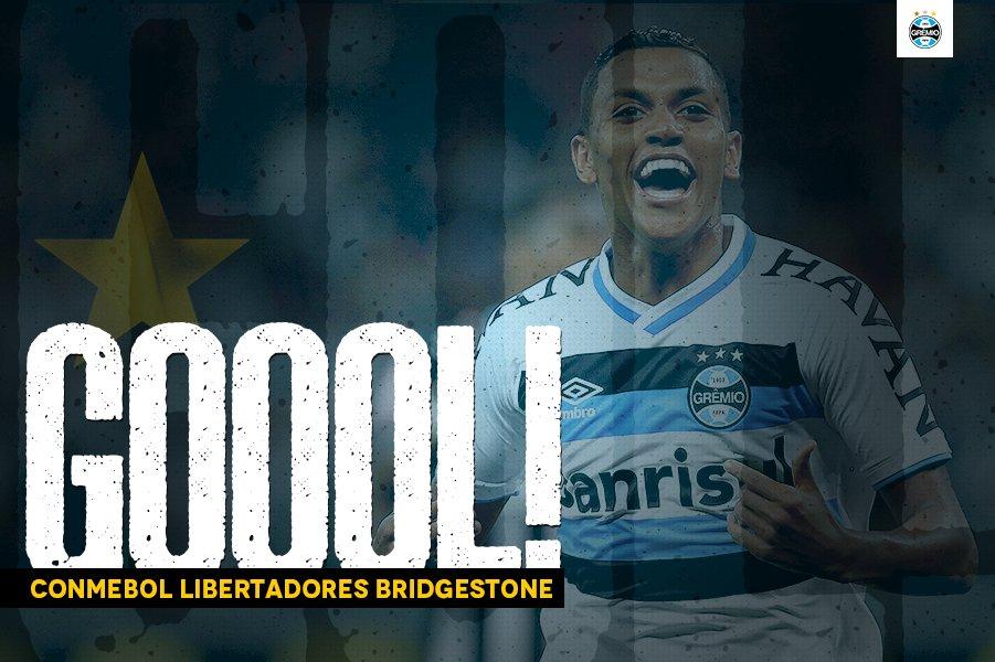 Pedro Rocha, o predestinado Rocha! Ele marca e empata o jogo! Grêmio 1x1 Godoy Cru #Libertadores2017 #SoyLocoPorTri #QueremosACopaz