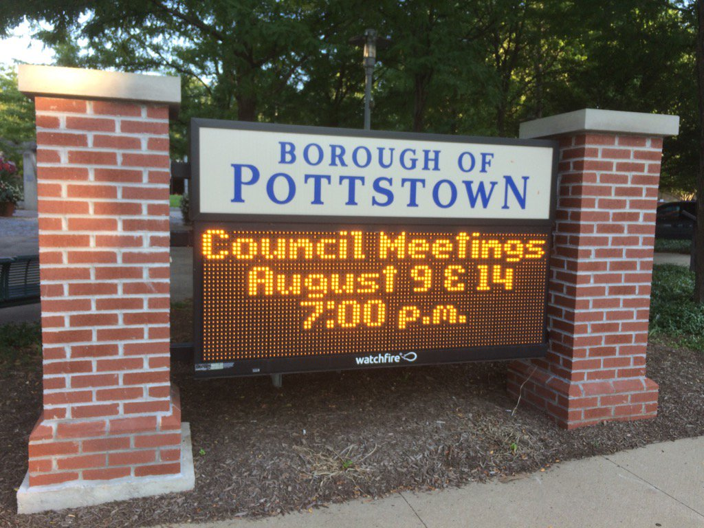 Rejoice gentle Twitter follower, for the time for @pottstownboro council is nigh! https://t.co/AliCQylSpc