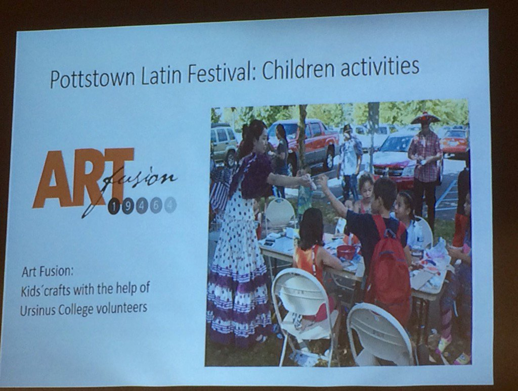 Mariachi bands, dancers, arts and crafts were all part of the first Latin Festival, she says. https://t.co/PhgVMYEMVE