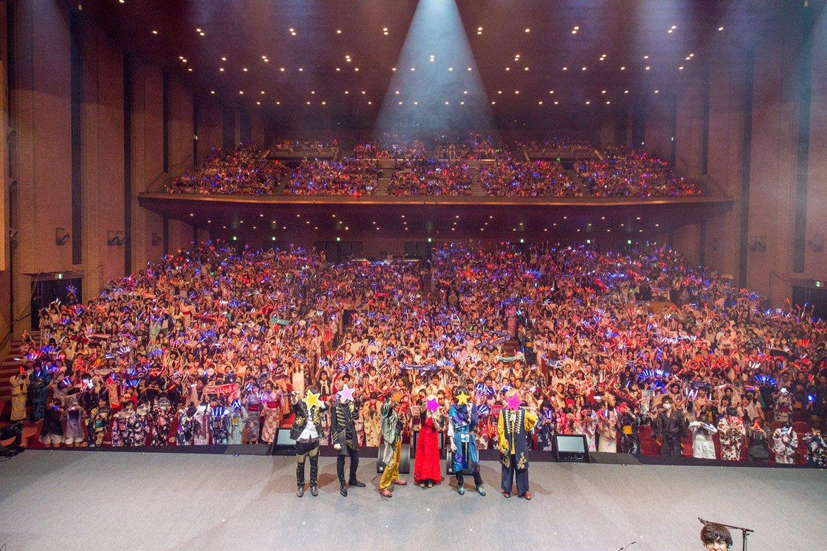 Stars on Planet 2017 無事に終わりました!!神戸・大宮で延べ10000人近くのお客様、ありがとうございました!!また会えるといいね!! #スタプラ https://t.co/cqKiNaM4zo