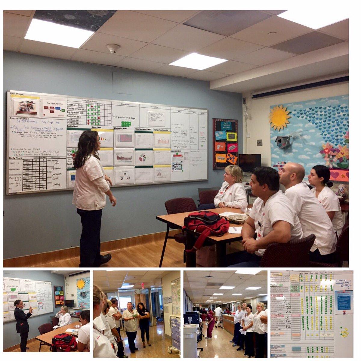 Learning &amp; sharing standard work @CTICU_NYC @AllinatTheAllen @HeadRNColumbia @QualityRN_NYP #Visibility Board #kamishibai board # #lean #CI<br>http://pic.twitter.com/sUybqiEWJL