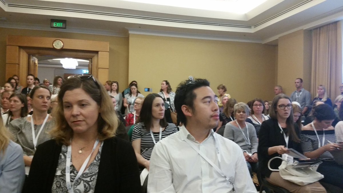 Not even standing room for #implementation research session at #smartstrokes17 to hear @DominiqueCad @strokefdn <br>http://pic.twitter.com/vIXBPiPGDz