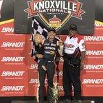Congratulations to @KyleLarsonRacin for winning night 1 of @KnoxvilleNats!