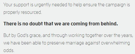 The Australian Christian Lobby against same-sex marriage really REALLY needs to re-think its slogan https://t.co/4L6wEDE5sT