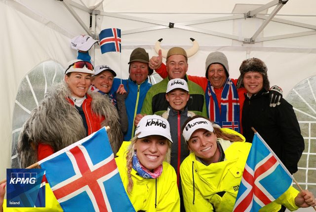 Thumbnail for Kristinsdottir Hosts Charity Outing in Iceland