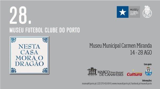 O Museu FC Porto estará em Marco de Canaveses entre 14 e 28 de agosto. Sabe mais aqui ➡️https://t.co/6sCiKLqOZK