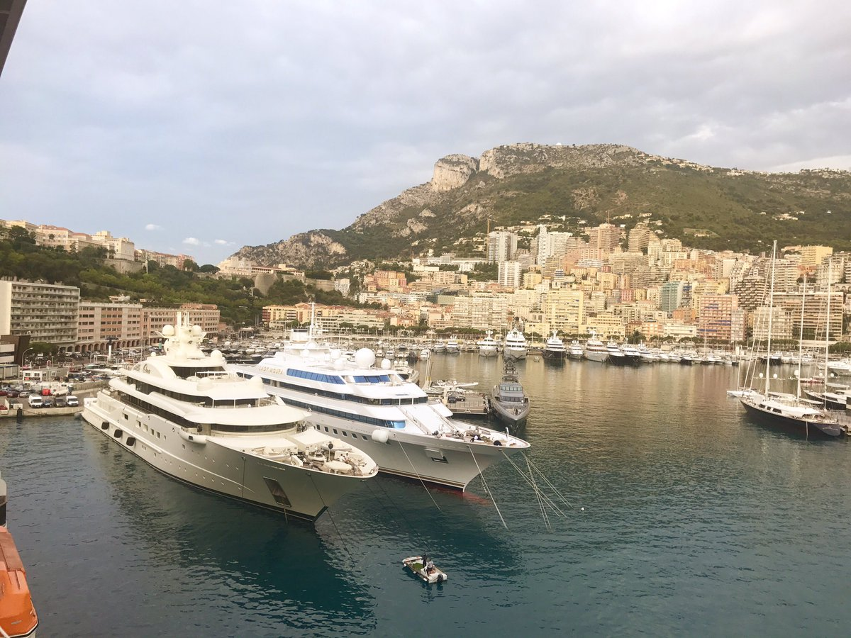 Bonjour #MonteCarlo Just arrived in #Monaco where the #cruise is finished, a bit sad but looking forward to holidays on Côte d&#39;Azur <br>http://pic.twitter.com/Zp025kVWdE