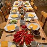 Obligatory Team Breakfast Tweet @elinvar_de - this week: Brazilian style ☕️🥑🍉 #treatyourteam #feedyourteam #bestofficemanager