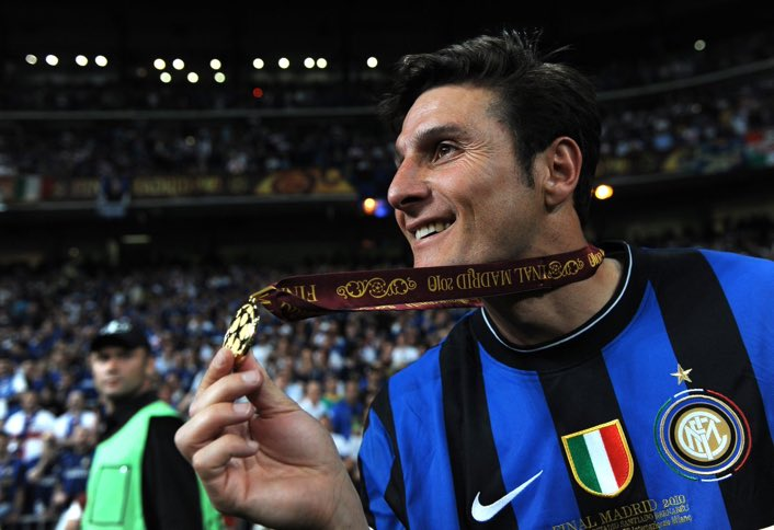 Happy birthday to Javier Zanetti!  19 seasons 858 games 21 goals  16 trophies Inter legend.