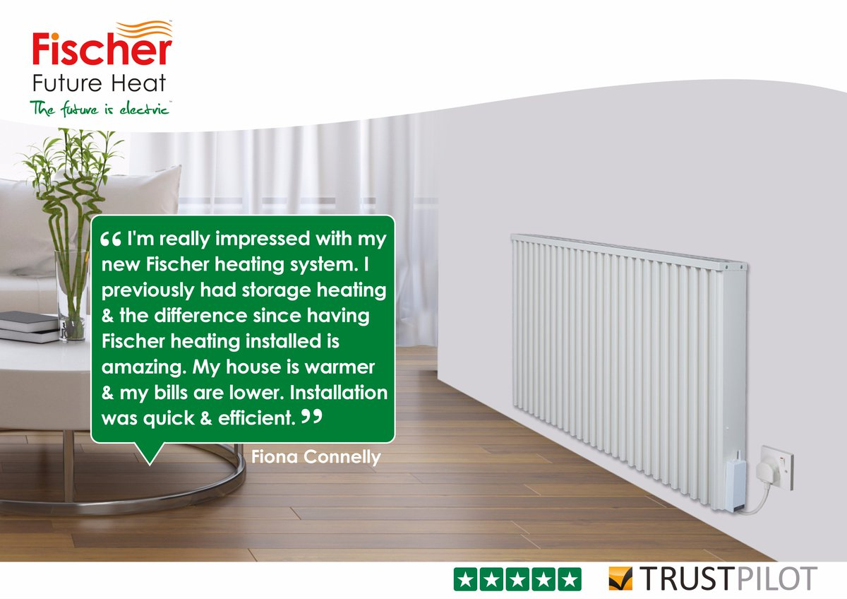 Fischer Storage Heaters >> Fischer Future Heat Uk On Twitter Fantastic Customer