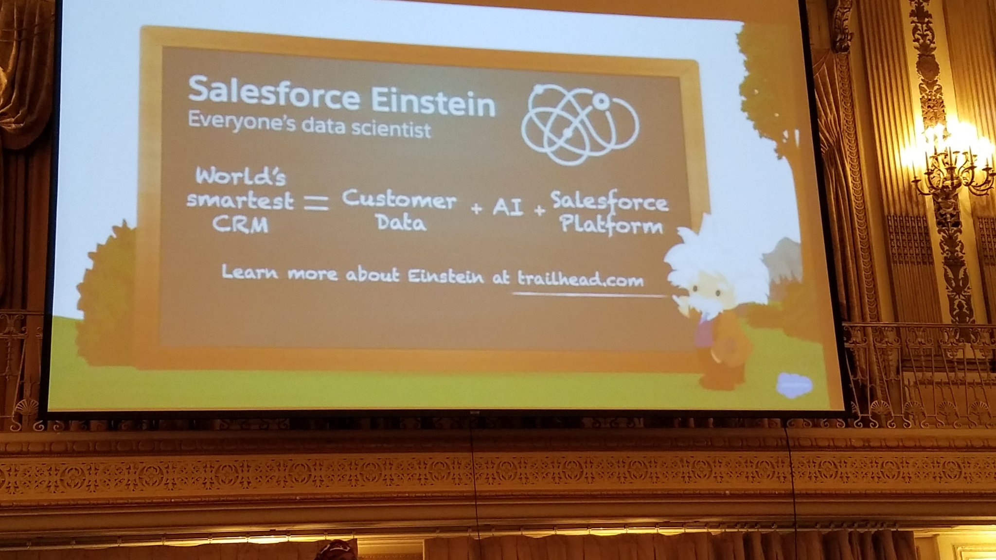 SF Einstein is the future. #MWD17 https://t.co/eHtiKauuBD