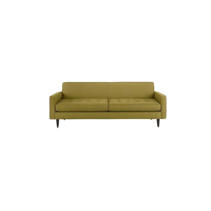 Patsy Sofa is bound to bring out that classic mid century look with its beautiful design and color.  #setdesigner #event #eventdesign #party<br>http://pic.twitter.com/Tv0MdOAj7H