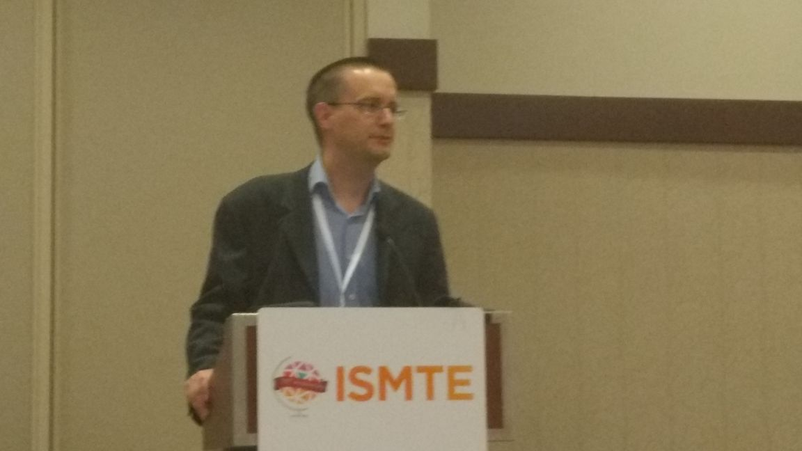 @ISMTE President @ctyerkes addresses and welcomes all #ismteis10 attendees! It&#39;s a great morning out here in Denver at  #ISMTE2017<br>http://pic.twitter.com/HvfVONNwJ5