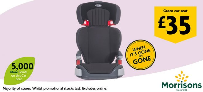 Morrisons Baby Event Car Seat