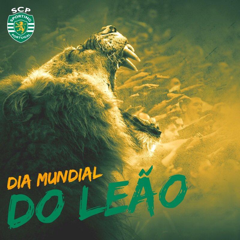 Feliz Dia Mundial do Leão, Leões! 🦁
