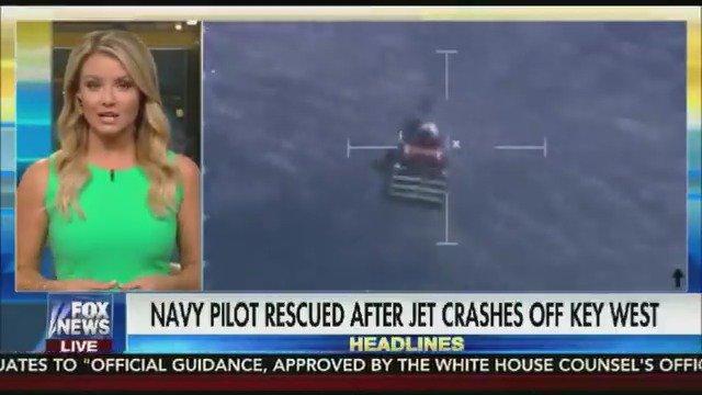 Navy Pilot rescued after jet crashes off Key West https://t.co/u4OuXkGRgq