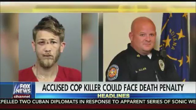Man charged with murdering a cop in Indiana who was trying to save him could face the death penalty https://t.co/1TfDhyXtN6
