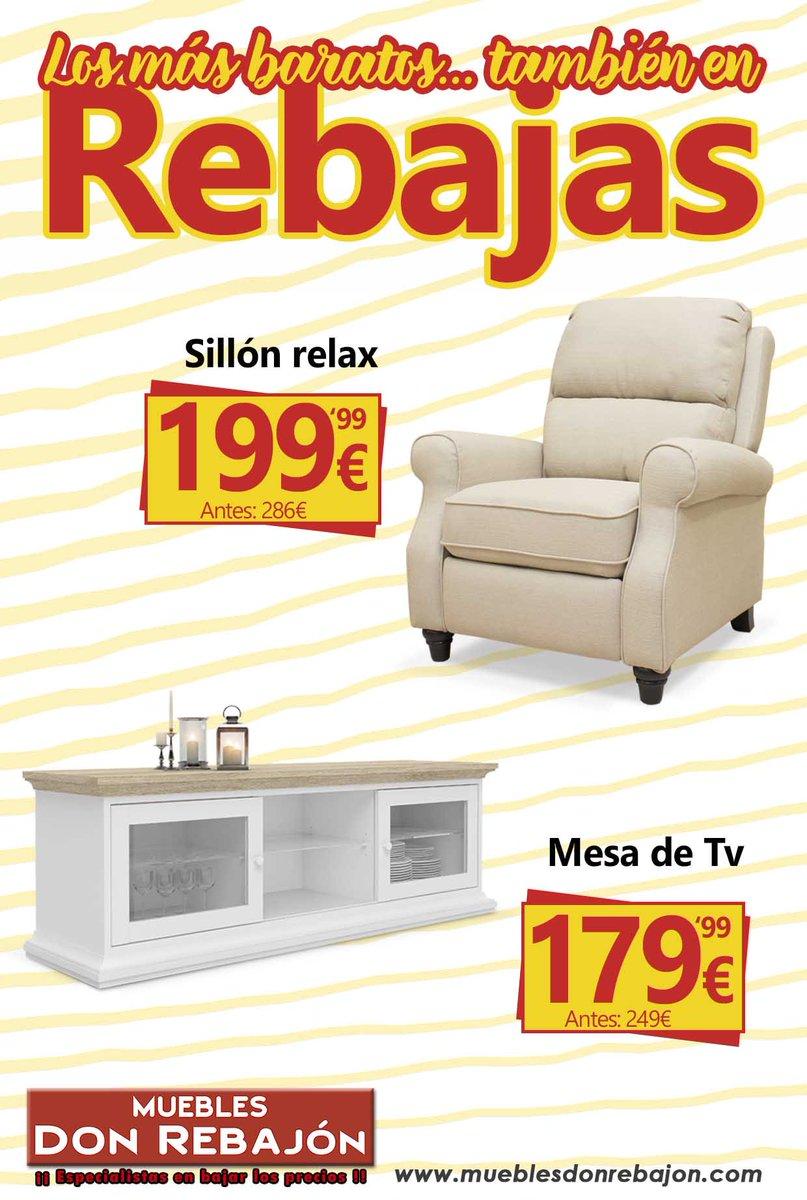 Muebles Don Rebajon On Twitter Rincones Con Encanto Para  # Muebles Favorita