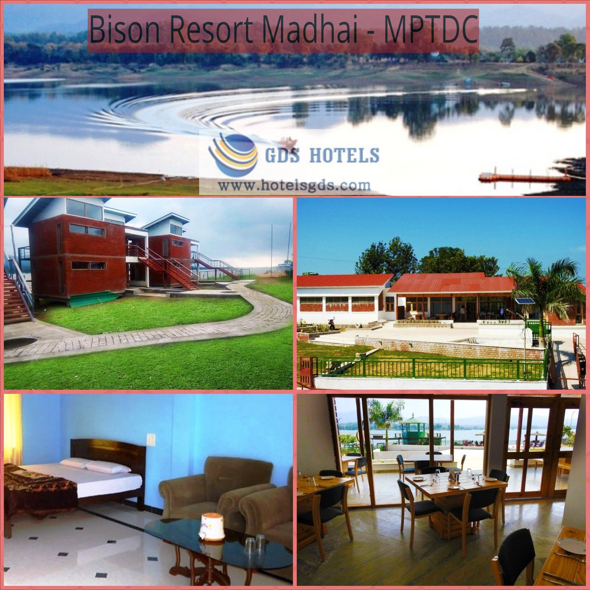 Gds Hotels On Twitter Bisonresort Madhai Mptdc Is Budgethotel In With Best Cl Accommodation Conference Facility
