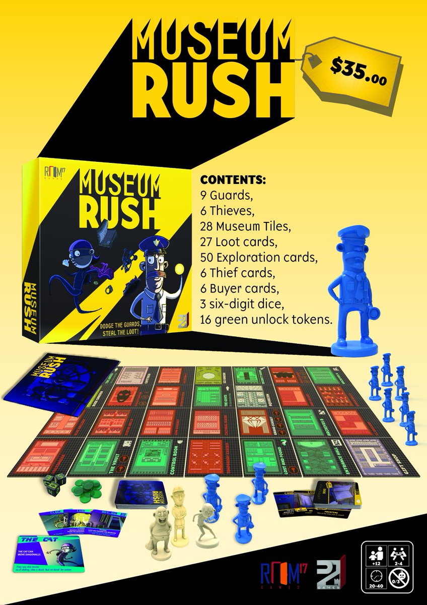 Museum Rush Contents Sheet