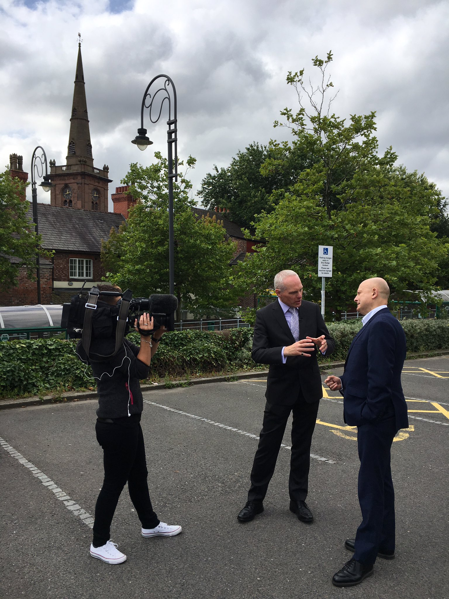 Professor Richard Wilson talking to @MerseyHack about #Shakespeare North Playhouse & the fascinating link between #Prescot & #Shakespeare https://t.co/kQ0mNTRpSV