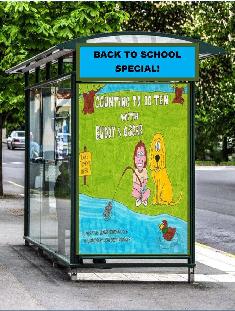 #teachers #educators #parents Get on the #BacktoSchool tour with Buddy &amp; Oscar First stop #counting #childrensbooks #kidslit #rt @amazon<br>http://pic.twitter.com/k6enE5yfla