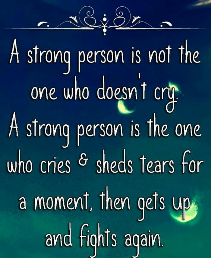Strong people DO #Cry! #JoyTrain #Joy #Love #Peace #Growth #Tears #Transformation #SelfLove RT @janisexton