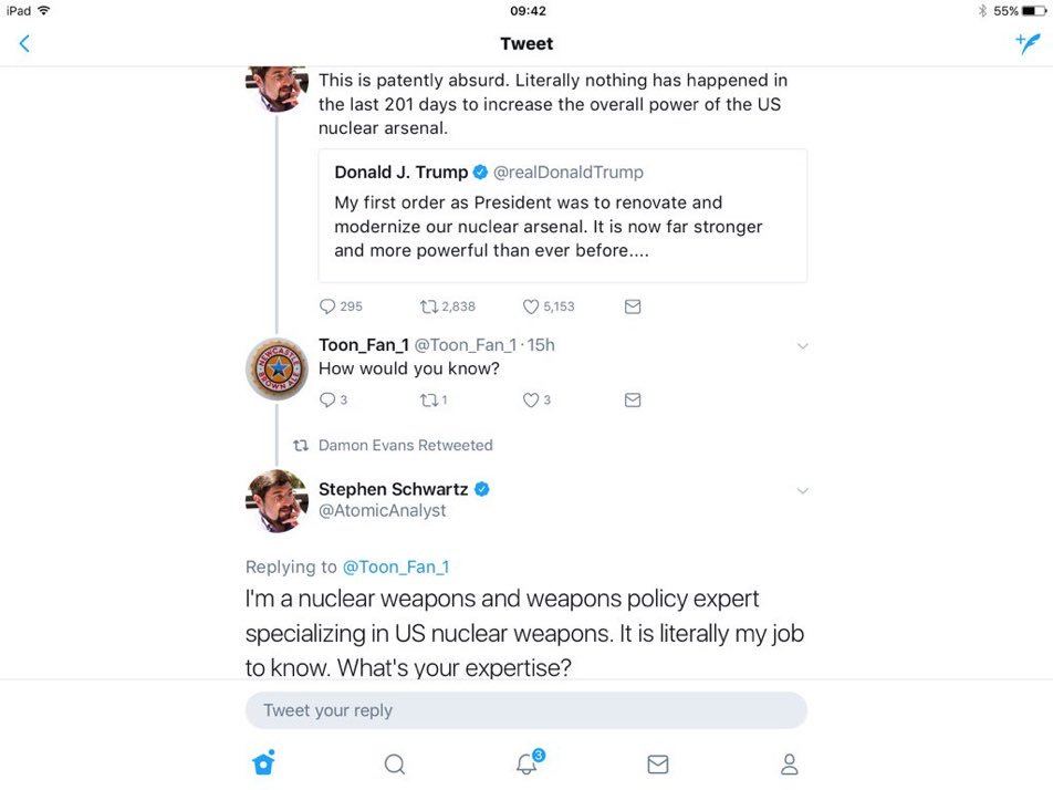 This is my new favorite Twitter exchange due to mix of comedy and relevance. Will definitely make top 5 all time. https://t.co/0vtUKc7DdD