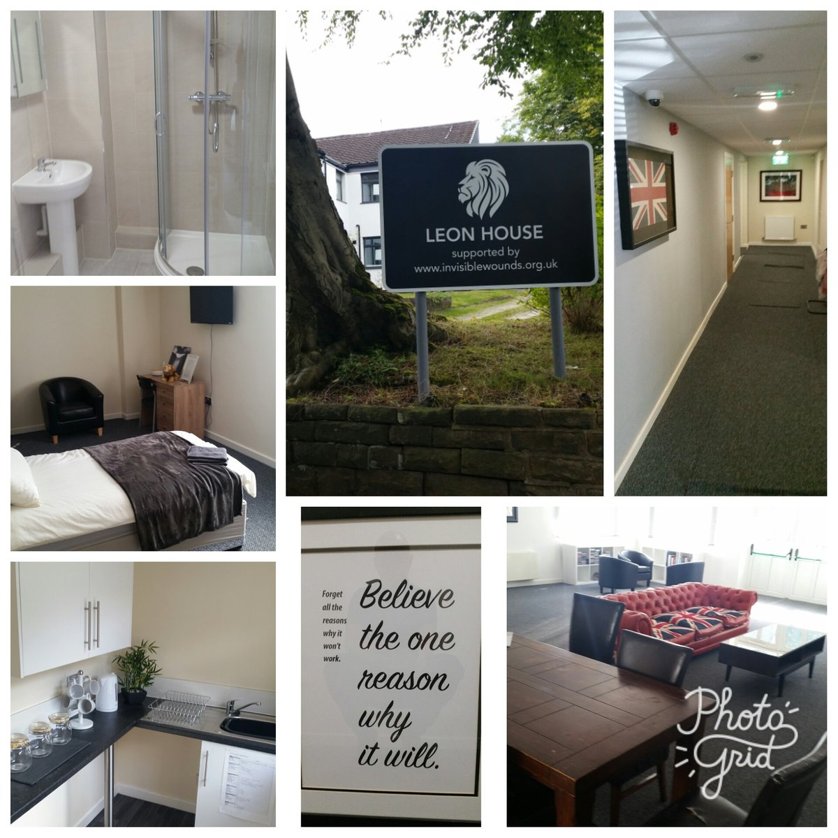 Leon House Prestwich, ready to take its first veterans struggling to cope. Excellent facility. #ptsd #veterans # armed forces #vulnerability <br>http://pic.twitter.com/FjYOF5vCwF