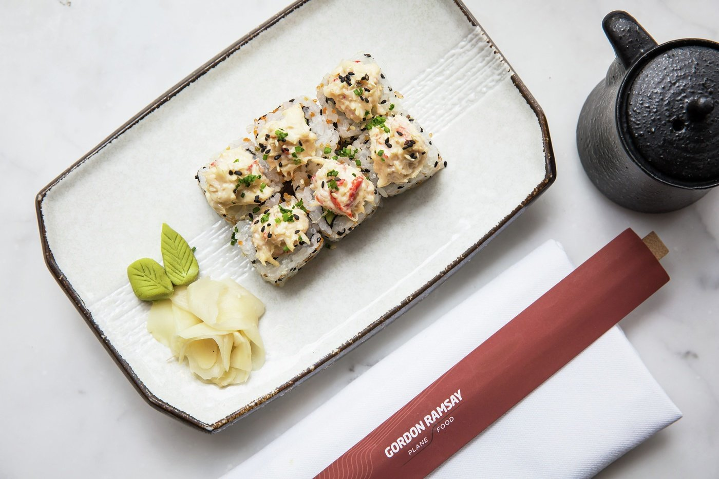 Getting you #ReadyForTakeOff with some delicious California rolls very soon @PlaneFood - I can't wait ! Gx https://t.co/aM41cWjBgS