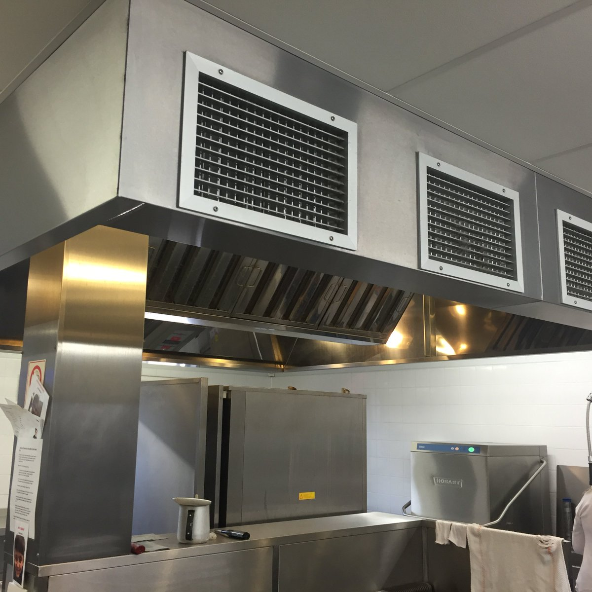 R Briggs Ltd on Twitter  Small commercial kitchen extraction canopy with fresh air input to the front face of the canopy manufactured and installed by R ... & R Briggs Ltd on Twitter: