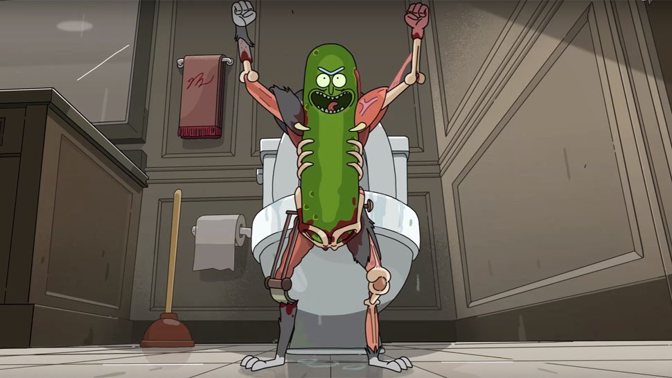 Artist sculps #RickAndMorty's most absurd character. It's model #PickleRick! https://t.co/cgUQU198tD https://t.co/dU9l0pKCb0