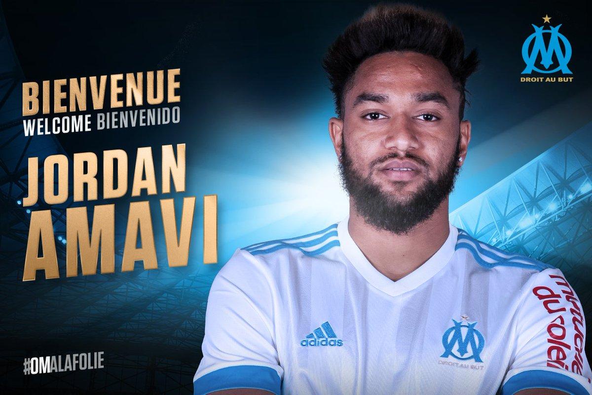 L'Olympique de Marseille est heureux d'annoncer l'arrivée de @JordanAmavi au club ! 🔵⚪️ #JordanEstOlympien