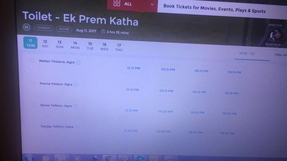 Booking for #TEPK started in #Agra #Lucknow go grab it <br>http://pic.twitter.com/tgCWDHqsnc