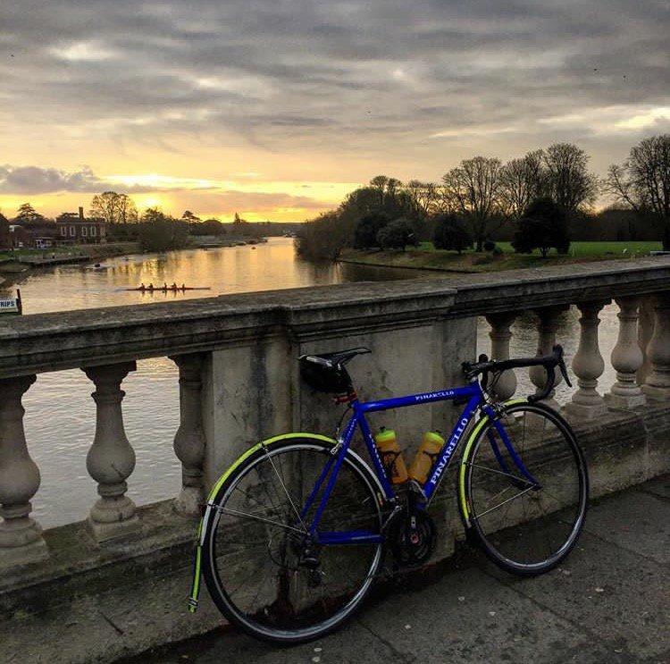 Sunrise  thanks @Dankogan89 #cycling #sunrise #cyclisme <br>http://pic.twitter.com/Uf7m8agoER